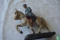 Paul von Hindenburg - ruiter te paard