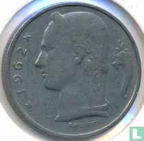 België 5 francs 1962 (FRA)