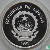 "Angola 100 kwanzas 1999 (PROOF) ""2000 Summer Olympics in Sydney"""