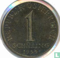 Austria 1 schilling 1959