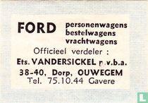 Ford - Ets. Vandersickel