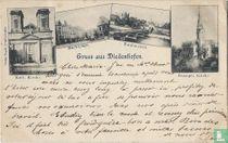 Souvenir de Thionville - Gruss aus Diedenhofen