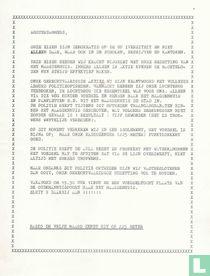 Maagdenhuisbezetting 1969 Poorter  Demonstratieoproep