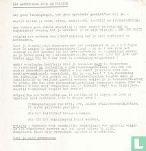 Maagdenhuisbezetting  Handleiding bij arrestatie mei 1969