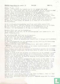 Maagdenhuisbezetting  Poorter  Extra Bulletin no.10 van 20 mei 1969