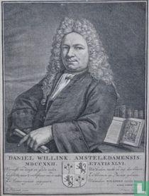 DANIËL WILLINK AMSTELAEDAMENSIS. MDCCXXII. AETATIS XLVI.