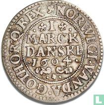 Denemarken 1 marck 1604 (GOTHOR)