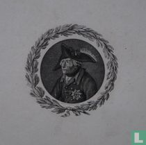 Portret van Frederik II de Grote (1712-1786)
