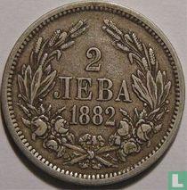 Bulgarije 2 leva 1882