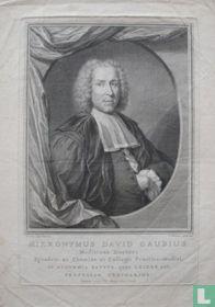 HIERONYMUS DAVID GAUBIUS