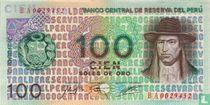 Peru 100 Soles de Oro