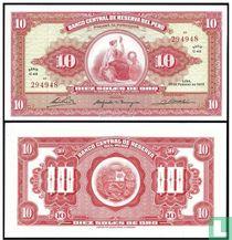 Peru 10 zolen de oro