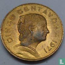 Mexico 5 centavos 1971