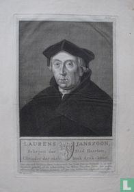 LAURENS JANSZOON, Schepen der Stad Haarlem, Uitvinder der edele boek druk-konst.