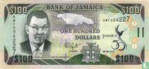 Jamaica 100 Dollars 2012