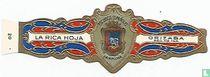 Escudos Españoles Pamplona-La Rica Hoja-Orizaba Reg. No 144