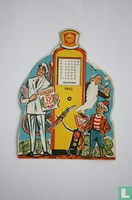 Kalender Shell Junior Club 1962