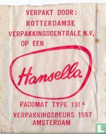 Rotterdamse Verpakkingscentrale N.V. - Hansella