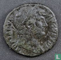 Romeinse Rijk, AE As, 117-138 AD, Hadrianus, Rome, 125-128 AD