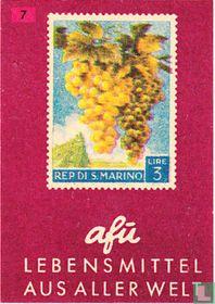Lebensmittel aus aller Welt - San Marino