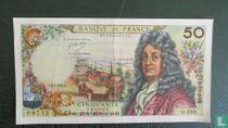 50 note Francs