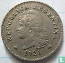 Argentinië 10 centavos 1921