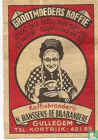 Grootmoeders koffie - N. Hanssens