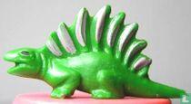 Comb dinosaurus - groen