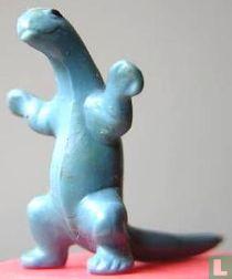 Godzilla - lichtblauw