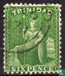 1863 sitzen Britannia