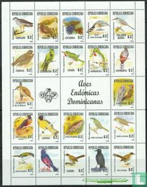 Oiseaux indigènes