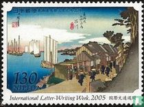 De 53 halteplaatsen van de Tōkaidō