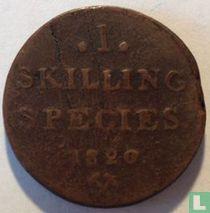 Norwegen 1 Skilling 1820