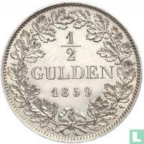 Beieren ½ gulden 1859