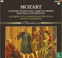 Mozart Concert voor fluit, harp en orkest