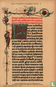 buchdruckerkunst boekdrukkunst
