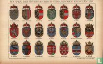 Wappen österreich ungarischen kronländer wapens oostenrijk hongarije