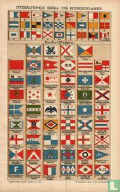 Signal reedereiflaggen rederijvlaggen signaalvlaggen