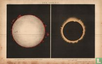 sonne  verduistering 1869 zon