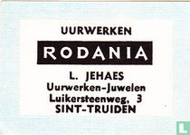 Uurwerken Rodania L. Jehaes