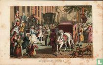 Huwelijk bruidsvaart 18e eeuw wedding 18e century