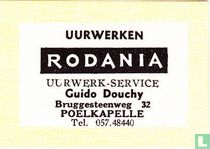Uurwerken Rodania Guido Douchy