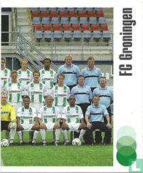 Rechterhelft team FC Groningen