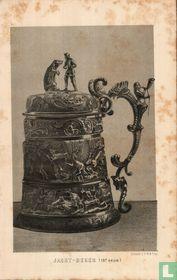 jachtbeker 18e eeuw hunting mug