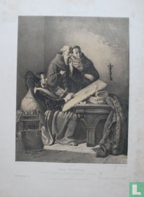 Hans Hemling nach der Schlacht von Nancy im Hospitale zu Brügge 1447.