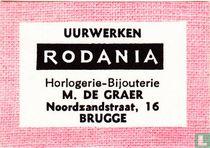 Uurwerken Rodania M. De Graer
