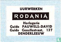 Uurwerken Rodania Guido Pauwels-David