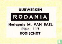 Uurwerken Rodania Horlogerie M. Van Bael