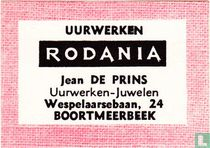 Uurwerken Rodania Jean De Prins