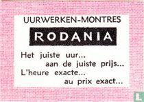 Uurwerken Montres Rodania